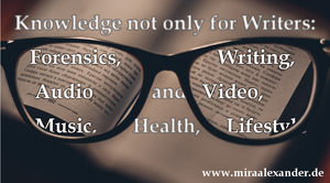 Online Courses Not Only For Writers: Forensics, Writing, Audio, Video, Photgraphy, History, Health, Lifestyle and more
