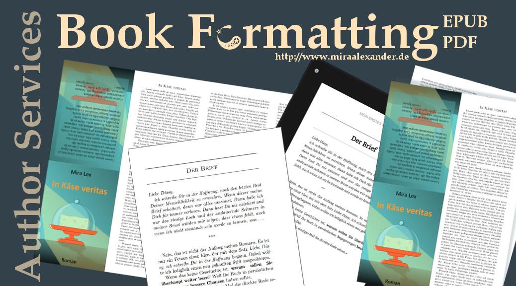 Buchformarmatierung
