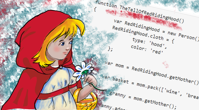 The Tale Of The Little Red Riding Hood Told By A Software Developer: