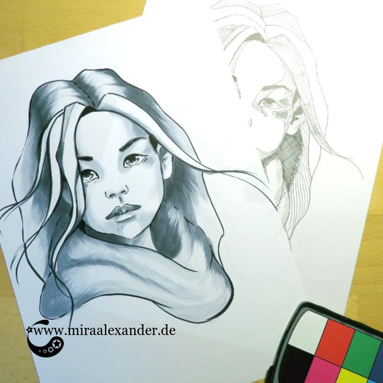 Die mehr oder weniger gelungenen Marker-Zeichnungen des #SSBD17-Challenges von Mira Alexander.